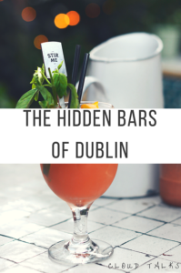 Hidden bars of Dublin
