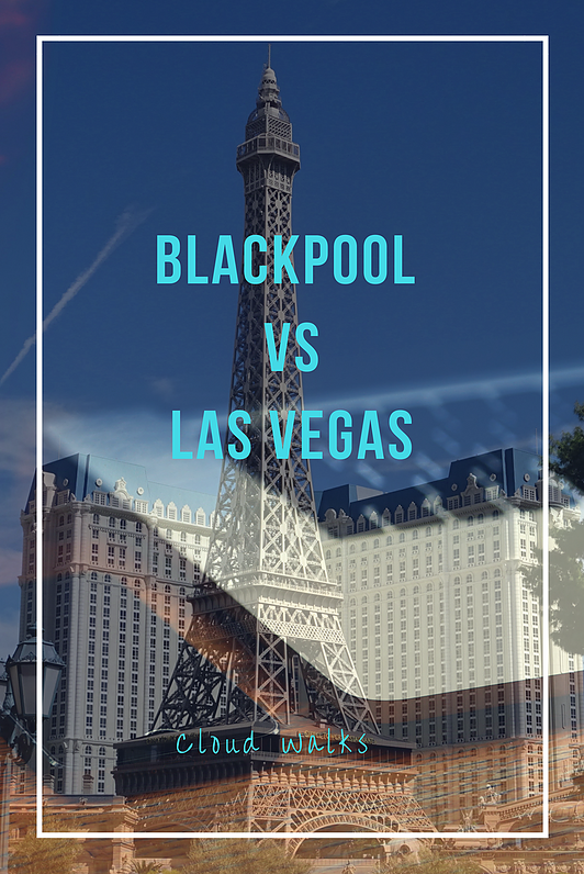 A unique guide comparing Blackpool to Las Vegas