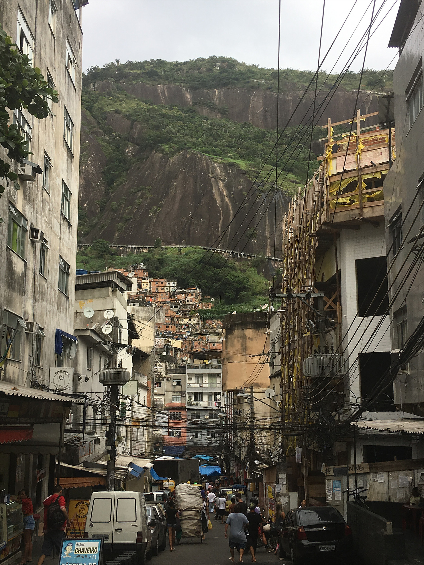 A picture of Rio favelas