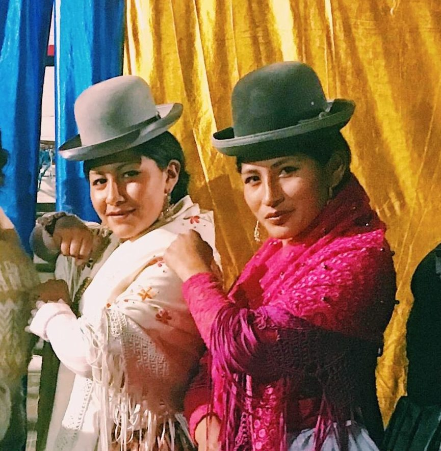 Cholitas in Bolivia
