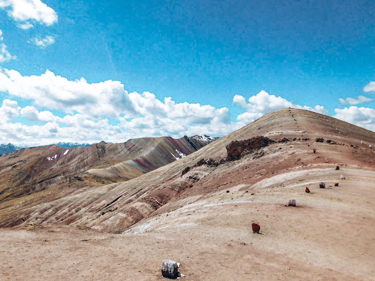 Rainbow Mountain Peru View