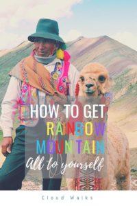 The best way to visit Rainbow Mountain Peru