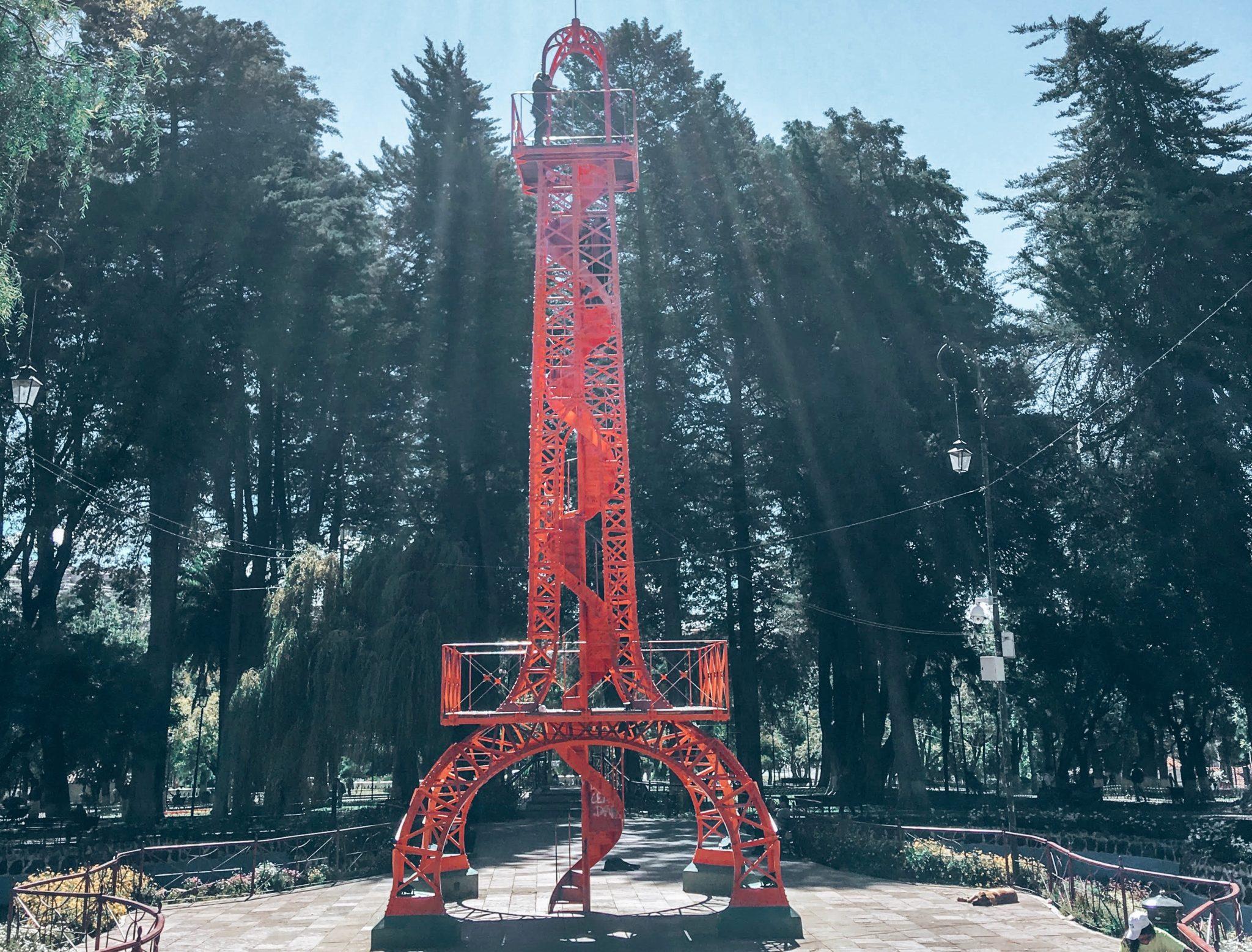 Sucre Eiffel Tower Bolivia