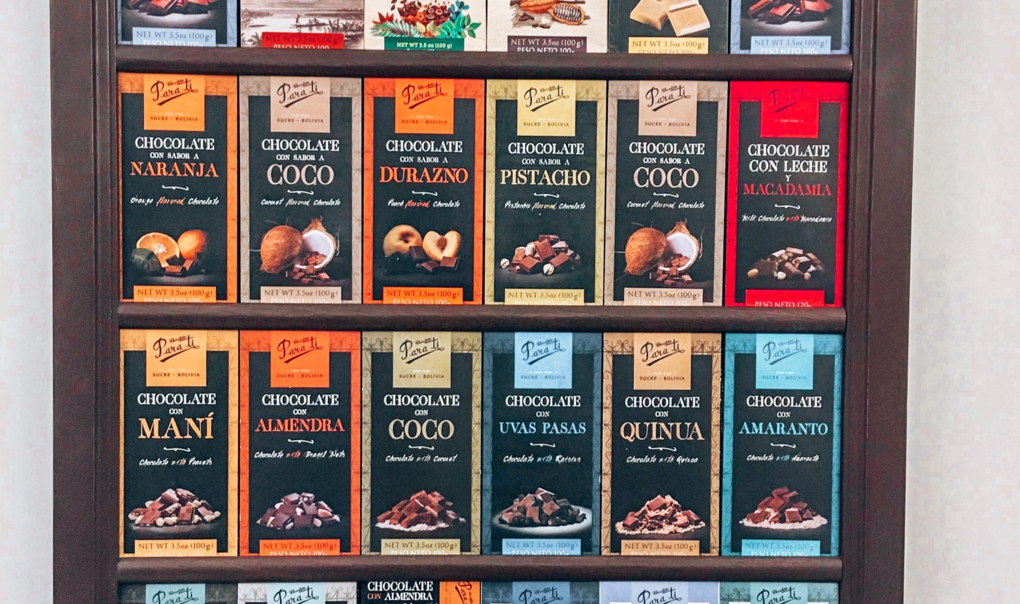 Para Ti Chocolate Sucre Bolivia