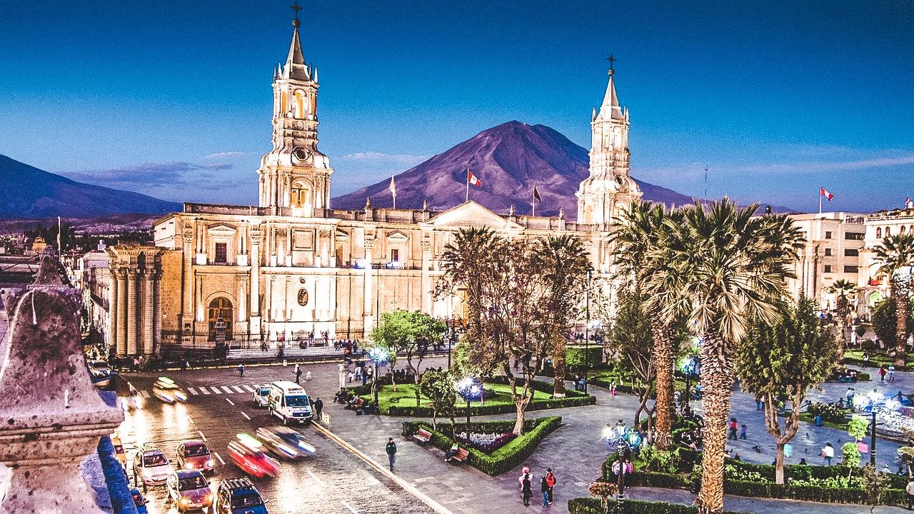 Arequipa Plaza Peru
