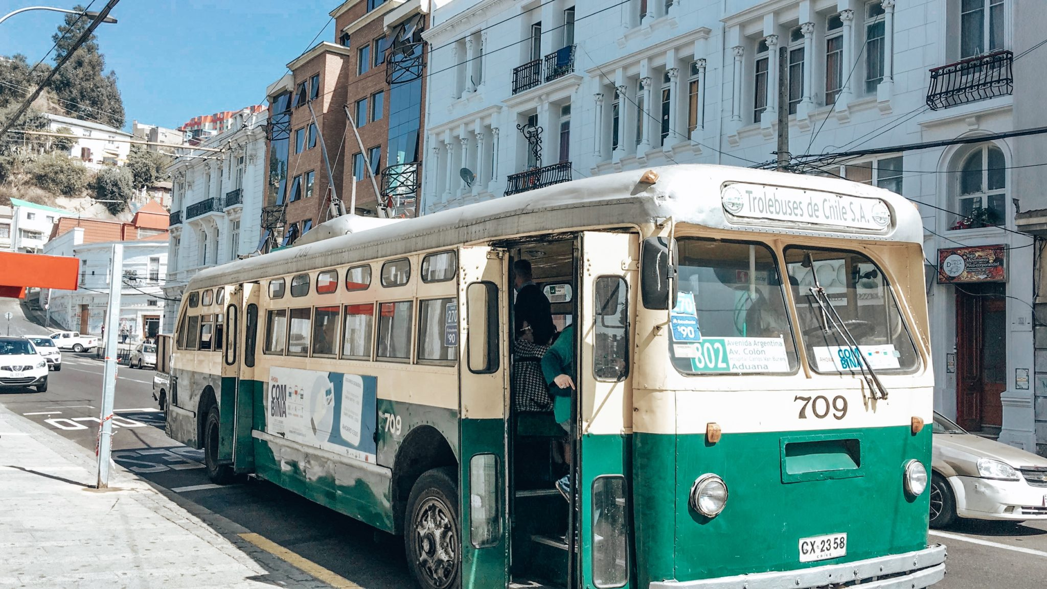 Trolley Bus Valparaiso Chile