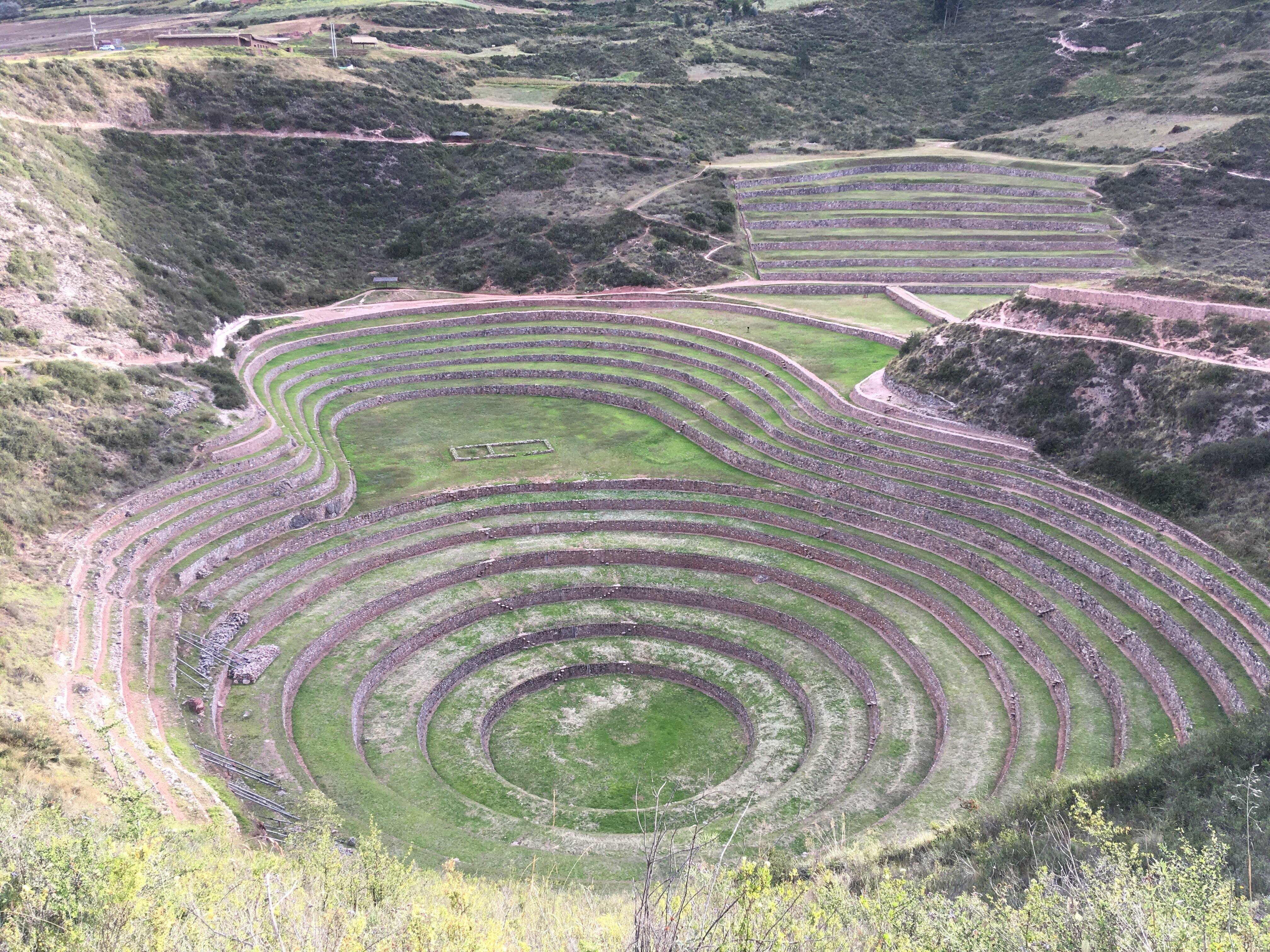 Moras Moray Peru