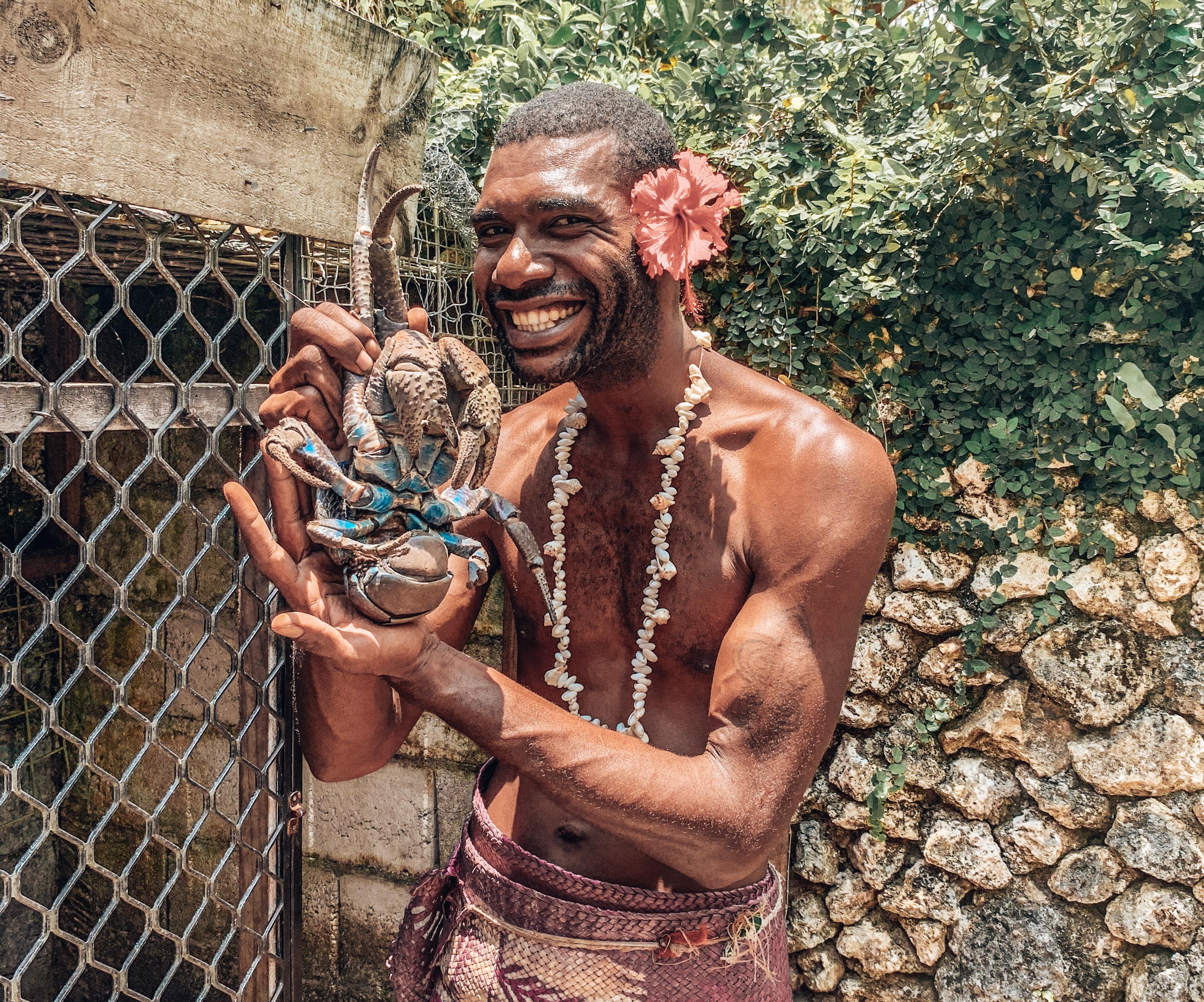 Coconut Crab Vanuatu