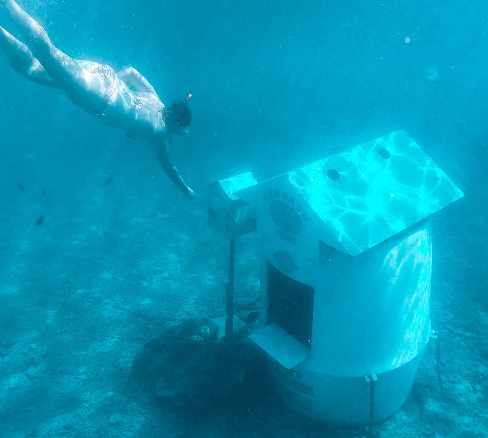 Hideaway Island Post Box Vanuatu
