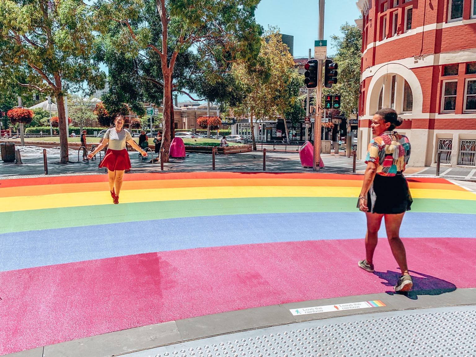 Rainbow Crossing Sydney